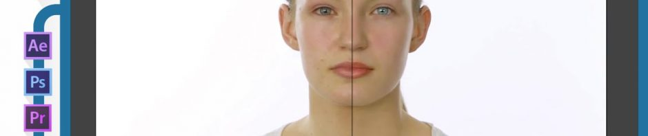 Remove face spot blemish After Effects tutorial