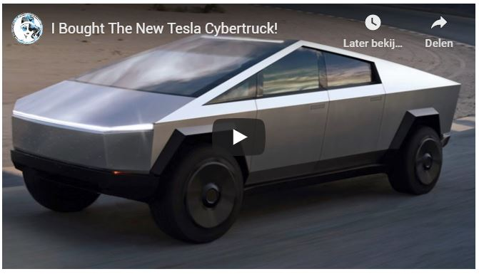 The New Tesla Cybertruck